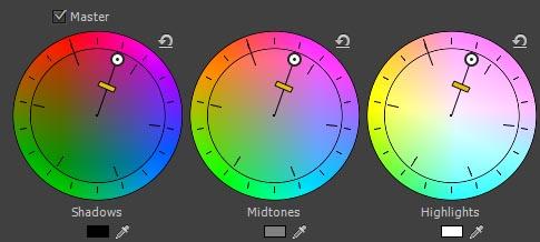 Three-Way Color Corrector