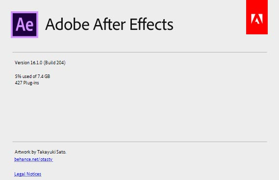 Adobe After Effects CC 2019