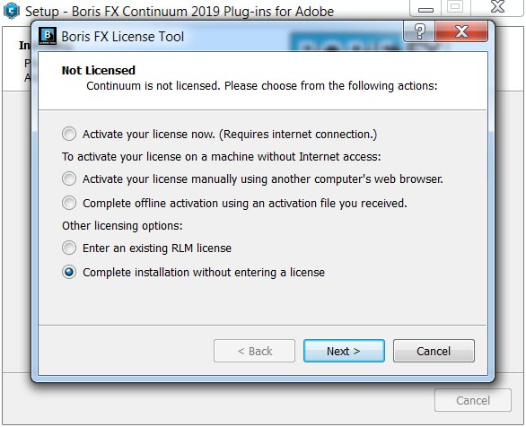 Boris Continuum Complete 2019 v12.0.2.4069 for Adobe