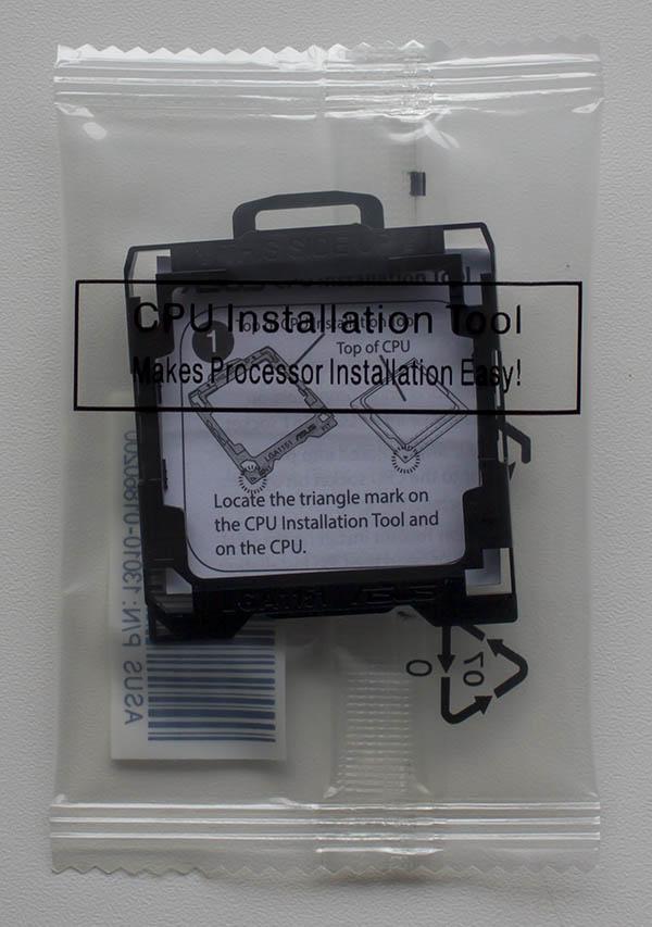 asus cpu installation tool 1151