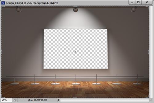 как вставить фото в рамку в фотошопе cs6
