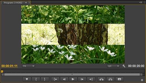 Adobe Premiere Pro Таймлайн