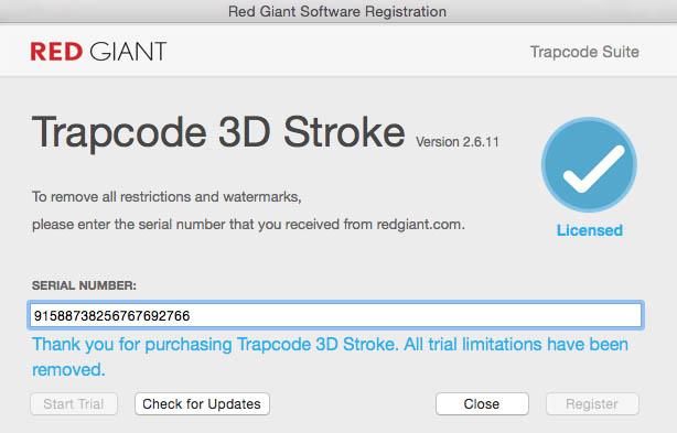 Установка Red Giant Trapcode Suite 14 0 2