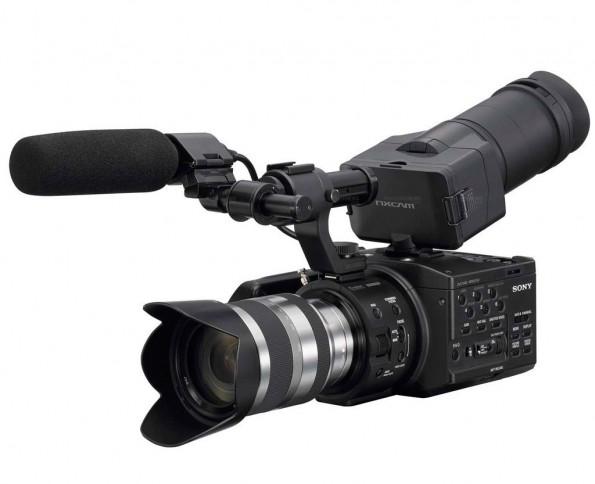Видеокамера sony NEX-VG10E - salonav.com