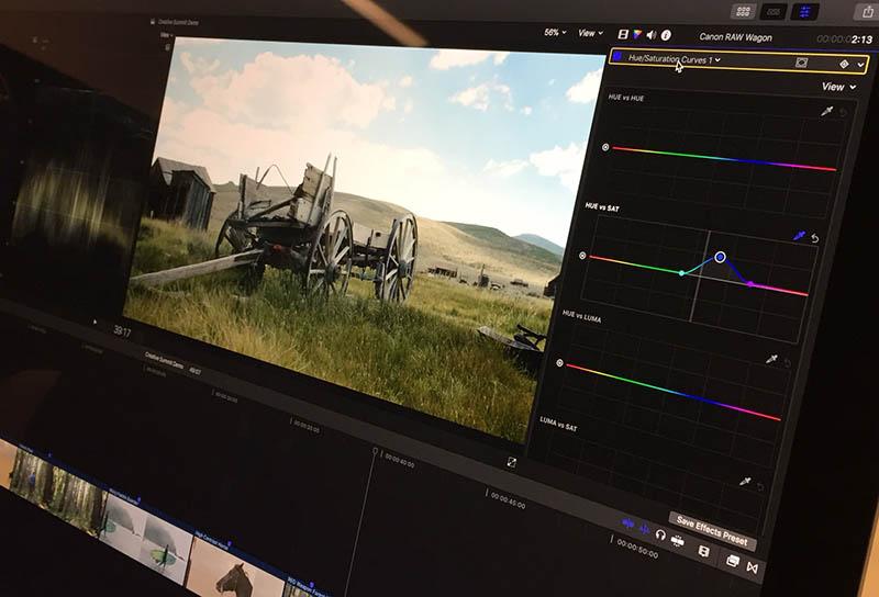 Canon Cinema RAW Light, Adobe Premiere Pro CC 2018, Intel