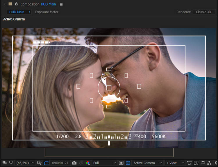 Free LUTs  CUBE, Photography HUD, DSLR Viewfinder Overlay